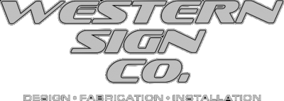Western Sign Co Logo